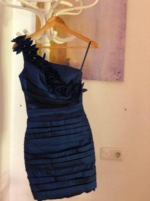 Suknia balowa ciemnoniebieski