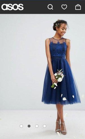 Chi Chi London Suknia wieczorowa niebieski-ciemnoniebieski