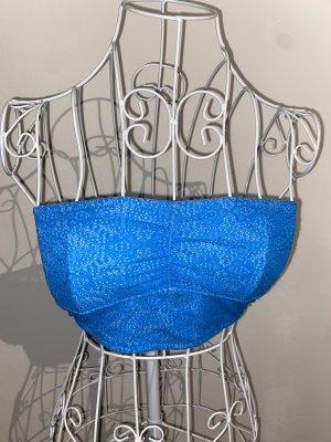 Gilly Hicks Haut bandeau bleu fluo-bleu