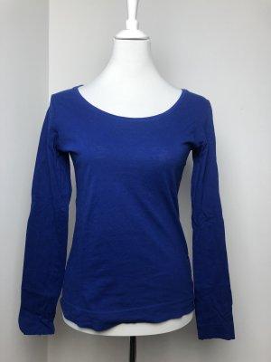 Blaues Basic Shirt Größe M