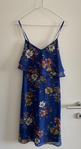 Blaues Blumen-Sommerkleid von Esprit