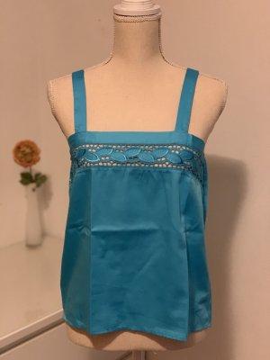 Blaues Blusen top