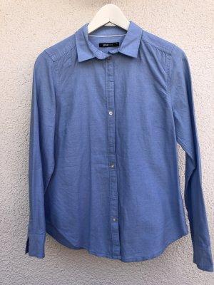 Blaues Blusenhemd von ginatricot