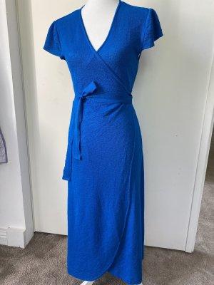 Mango Jersey Dress blue