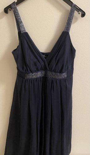 Ana Alcazar Vestido de cóctel azul-azul oscuro