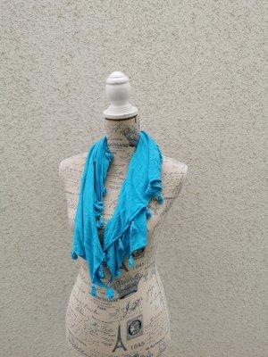 blaues dünnes Tuch