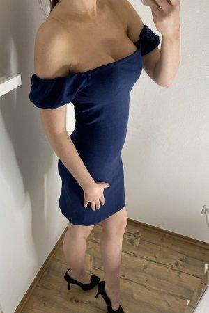Blaues elegantes edc Kleid