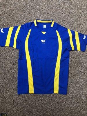 Blaues Erima Sport-T-Shirt
