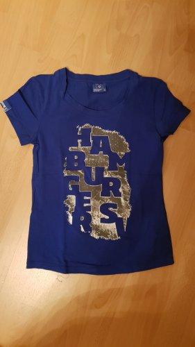 Blaues HSV T-Shirt,Gr.38