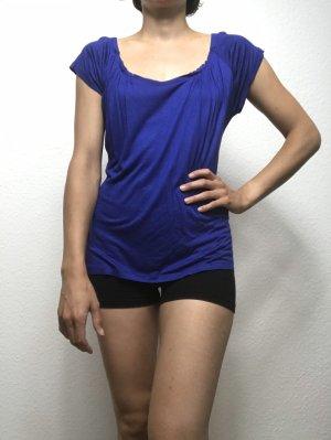 Blaues Hugo Boss Shirt