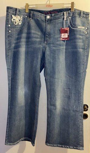 Sheego Jeans a 3/4 blu