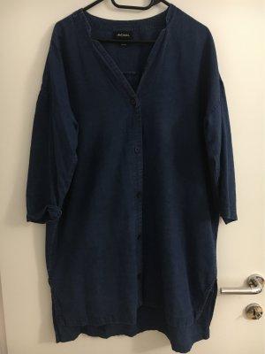 Monki Jeansjurk donkerblauw