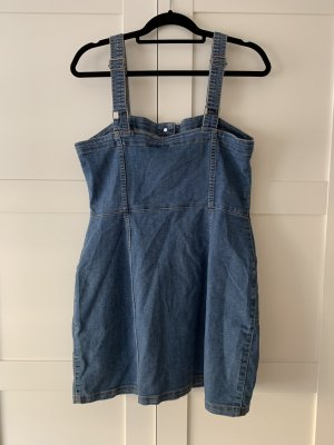 Blaues Jeans - Latzkleid