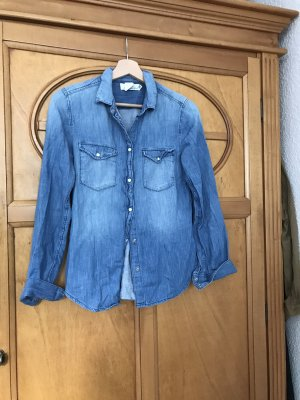 H&M Spijkershirt blauw