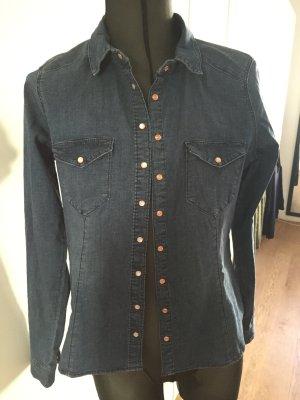 Blaues Jeanshemd von H&M
