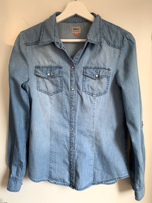 Only Denim Shirt multicolored cotton
