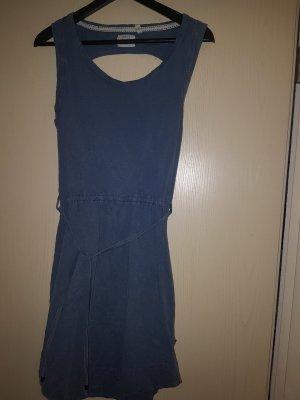 Anti Blue Vestido de manga corta gris pizarra