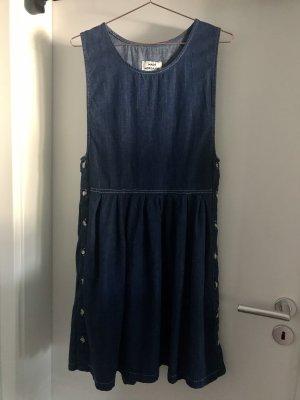 Mads nørgaard Jeansjurk blauw-donkerblauw