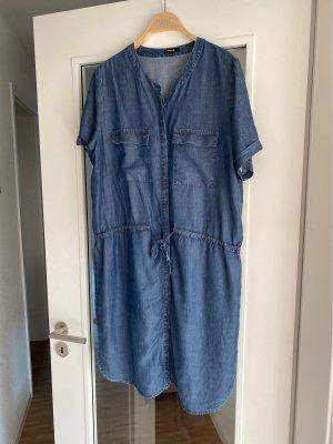Opus Robe en jean bleu acier