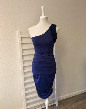 Joanne Kitten Sukienka tuba niebieski-ciemnoniebieski