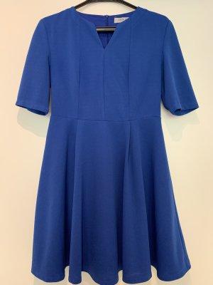 Robe trapèze bleu