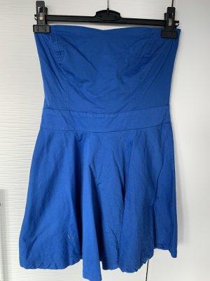 blue sand Bandeaujurk blauw