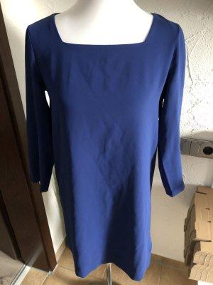 blaues Kleid / Businesskleid / Langarmkleid von Mango - Gr. S