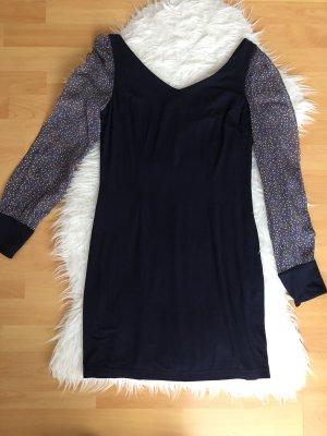 Blaues Kleid Mit Chiffon ärmeln Kinga Mathe 36 S