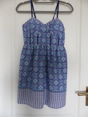 Blaues Kleid mit Mandala Muster - NEU!