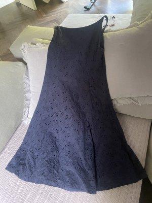 Lauren by Ralph Lauren Empire Dress dark blue