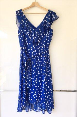 DKNY Robe d'été blanc-bleu