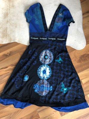 Blaues Kleid von Desigual Größe M