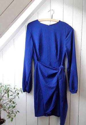 Blaues Langarmkleid von SheIn