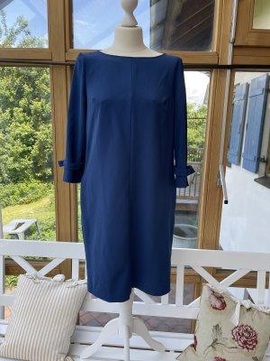 Blaues Langarmkleid von Sisley - casual Look