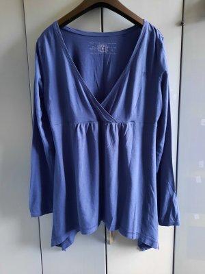 edc by Esprit Camisa con cuello V azul