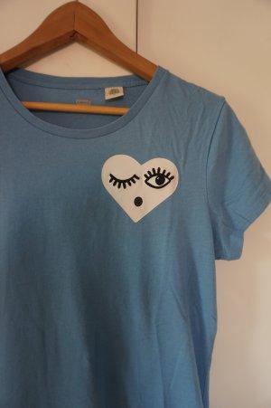Blaues Levis-T-Shirt