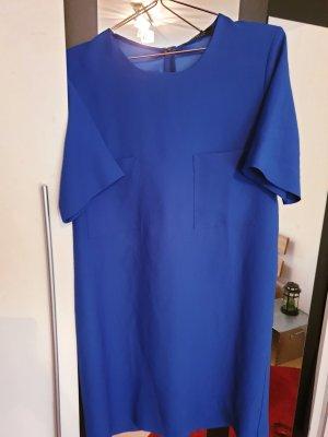 blaues Mango Kleid