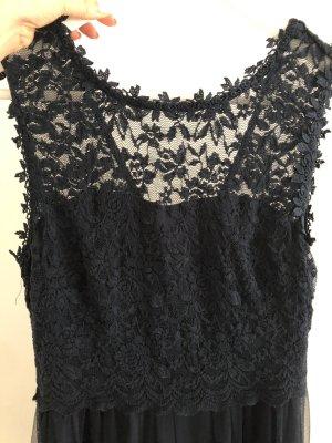 Blaues Maxi-Kleid von VILA Größe 36