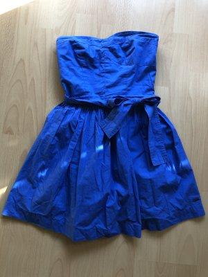 Pepe Jeans Robe Babydoll bleu-bleu fluo