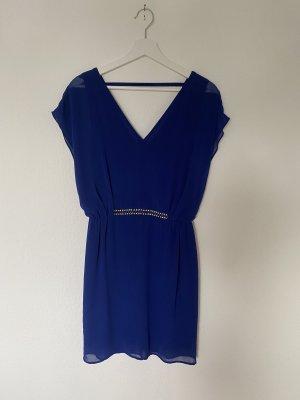 Blaues Partykleid