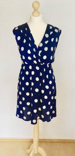 Blaues Polkadots - Kleidchen von VILA in S