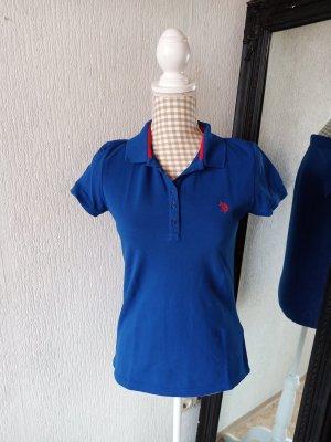 Blaues Polo Shirt