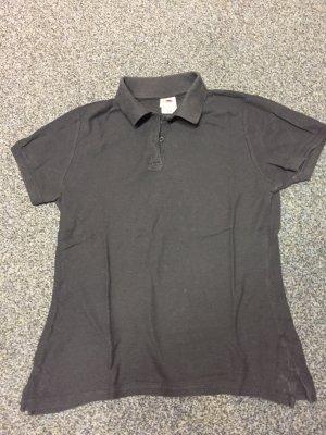 Blaues Polo shirt in Größe S