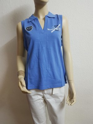Polo Top neon blue