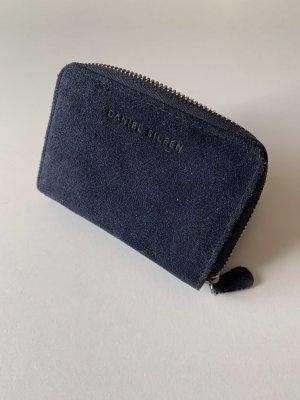 Blaues Portemonnaie