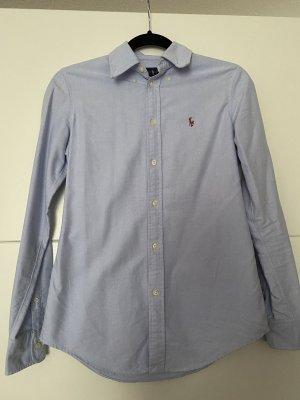 Blaues Ralph Lauren Hemd in Größe XS