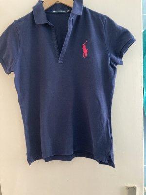 Blaues Ralph Lauren Poloshirt