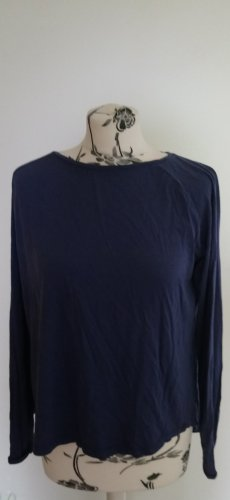 Blaues Rückenfreies Shirt Armedangels M