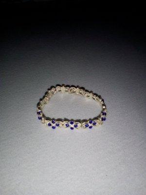Blaues Schmuckarmband