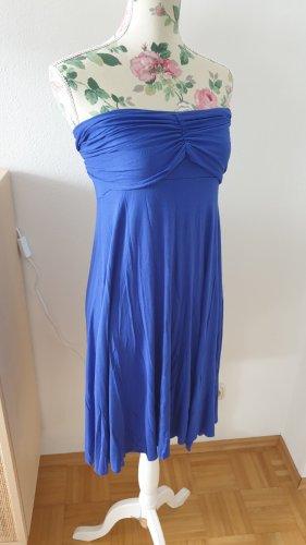 Yamamay Sukienka z dekoltem typu bandeau niebieski-stalowy niebieski